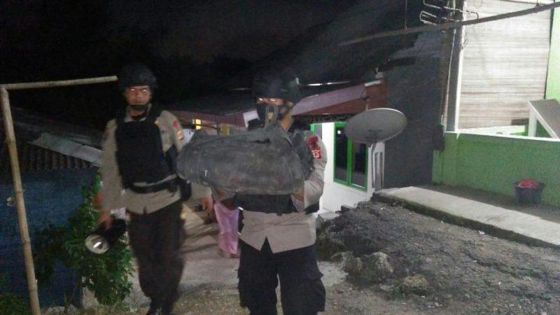 Kabid Humas Polda Jabar : Gegana Sat Brimob Polda Jabar Amankan Bom Militer , Diduga Sisa Perang di Temukan di Teluk Jambe Karawang
