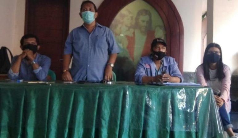ICRP Bersama PGI peduli Wartawan Berikan Bantuan Sembako