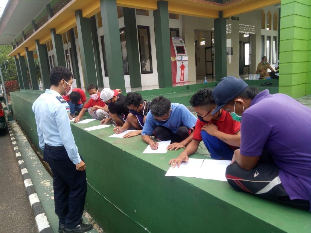Dinkes Lakukan Swab Warga Binaan dan Pegawai Lapas Kelas IIB Kota Banjar
