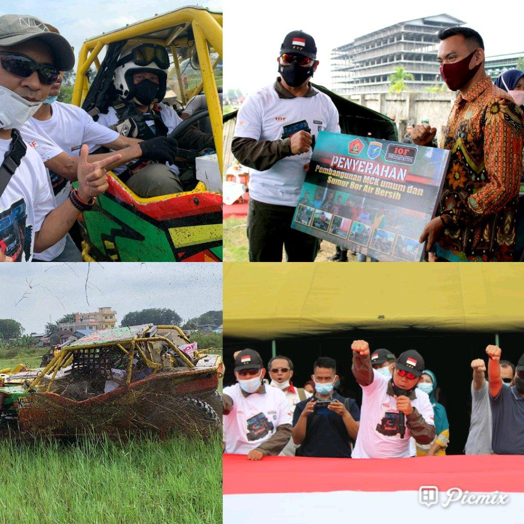 Dankodiklatad Bantu Sembako dan Air Bersih Dalam Rangka Bhakti Sosial di Kodam XII/Tanjung Pura