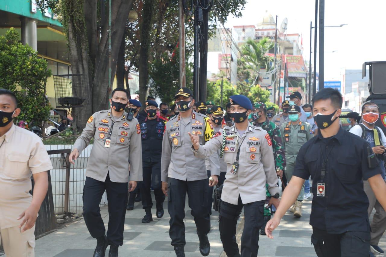 Kapolda Jabar Bersama Pejabat Utama Polda Jabar Sidak Ops Yustisi Ke Polresta Bogor Kota