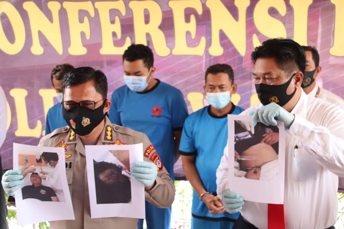 Penganiaya Polisi Saat Unjuk Rasa Di Bandung Terancam Hujuman Maksimal 5 Tahun Pejara
