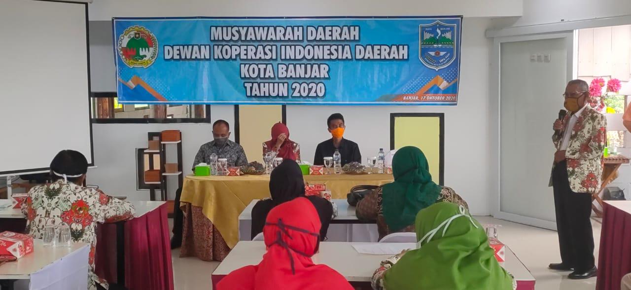 Wakil Wali Kota Banjar Buka Musda Dekopinda Kota Banjar Tahun 2020
