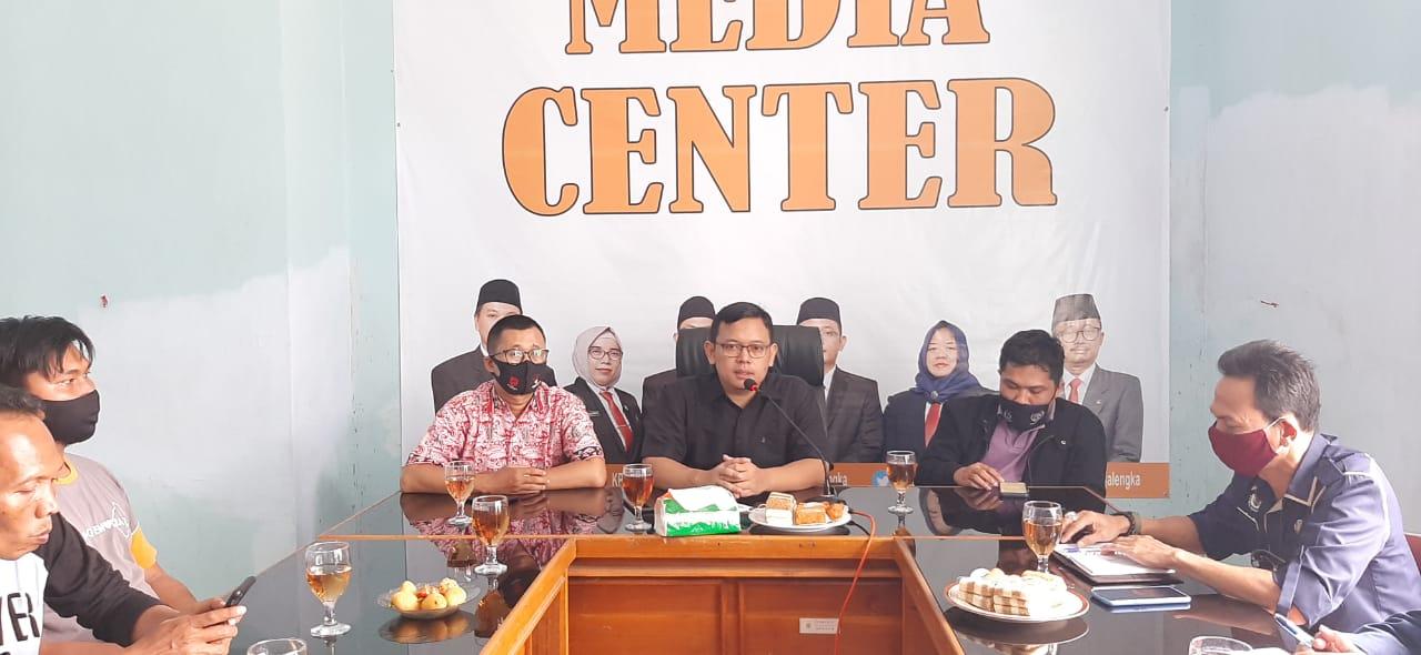 Bangun Literasi Media, KPU Majalengka Gandeng PWI Gelar Pelatihan Jurnalistik