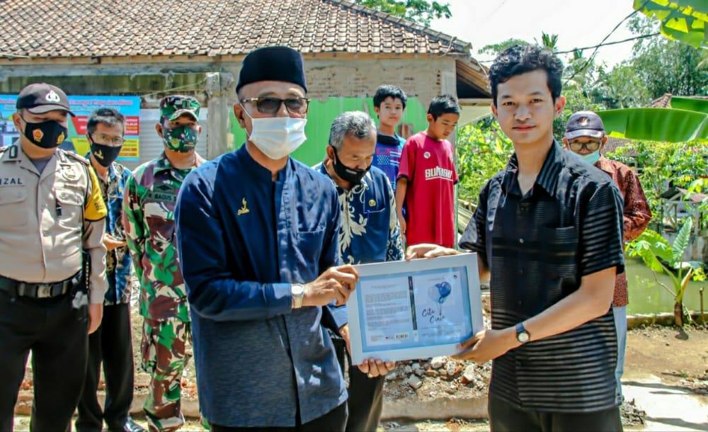 Bupati H Herdiat: Membangun Rumah Ibadah Tanggungjawab Bersama