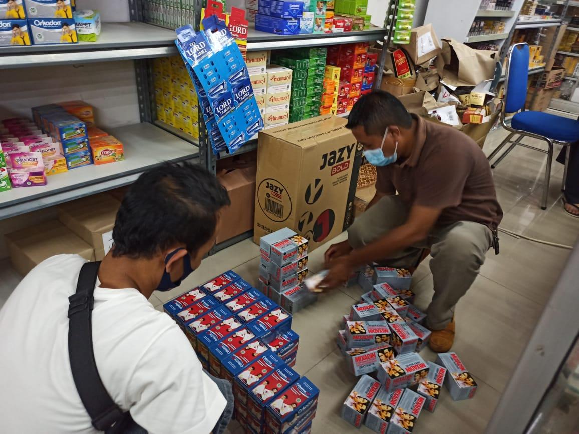 Satuan Reserse Narkoba Sita Ratusan Obat Bebas Terbatas dari Pasaran