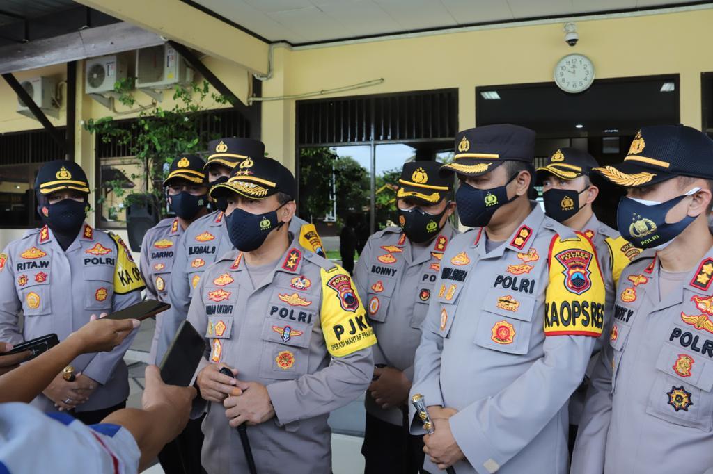 Angka Covid Di Jateng Masih Tinggi, Kapolda Jateng Imbau Perayaan Nataru Cukup Dirumah Saja
