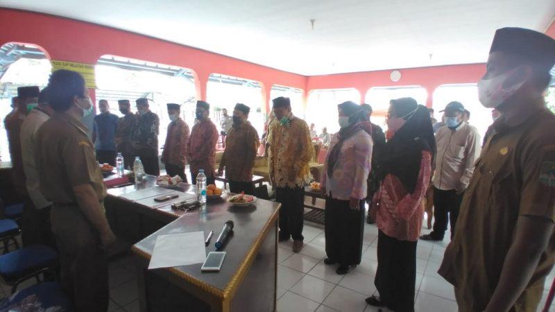 Ketua Pilkades Terpilih Dilantik BPD Desa Bongas Wetan