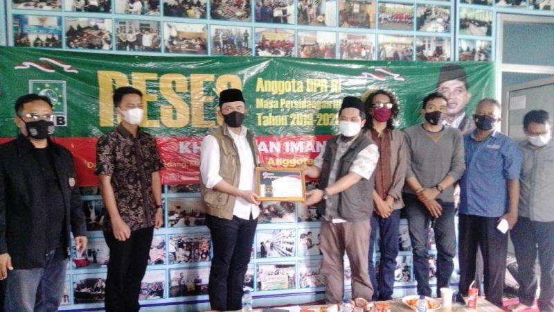 Reses di PWI, Kang Maman (DPR RI) Akan Fasilitasi Diklat Jurnalistik Tingkat Lanjut Bagi Wartawan Majalengka