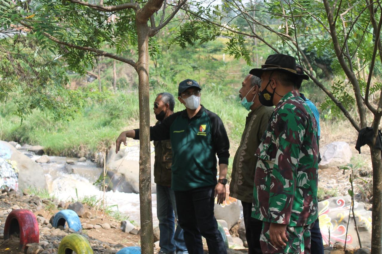 Dansektor 2 Citarum Harum Menerima Kunjungan Kepala Dinas Perumahan Pemukiman dan Pertamanan Kab Bandung