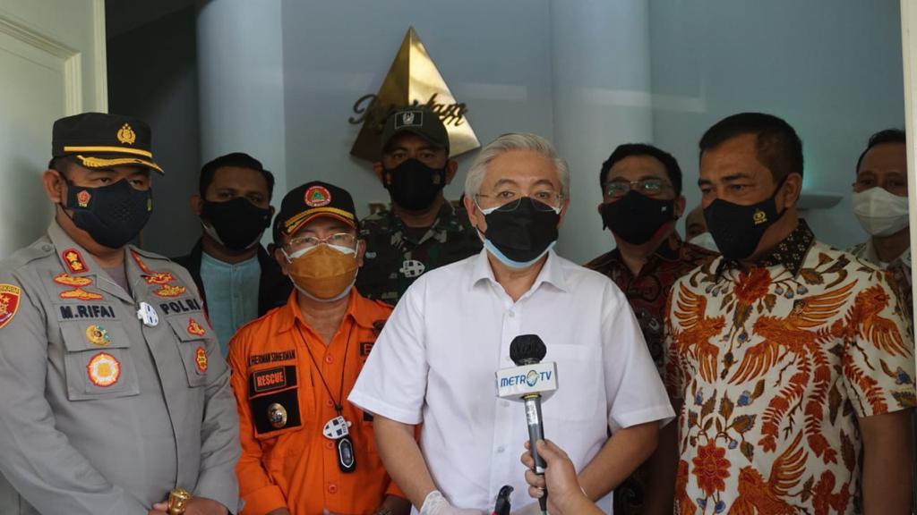 Kabareskrim Polri Cek Pabrik di Cianjur, Minta Obat Untuk Covid-19 Segera Didistribusikan.
